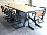 industrial style dining table Lovely Industrial Style Dining Table And Bench Set Nz ? culturesphere